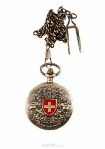 """Винтажные часы """"Швейцария"""", """"CAIFU""""."""